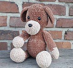 Hračky - Hačkovaný psík - 10995358_