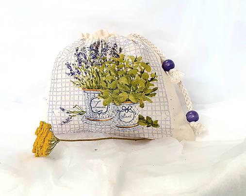 vrecúško na bylinky