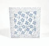 Papiernictvo - Jarná lúka plná kvetov - folk vyšívaný pozdrav - 10997372_