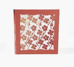 Papiernictvo - Jesenná lúka plná kvetov - folk vyšívaný pozdrav - 10997271_