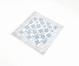 Papiernictvo - Jarná lúka plná kvetov - folk vyšívaný pozdrav - 10997373_
