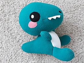 Hračky - Dinosaurus (Modrá) - 10999164_
