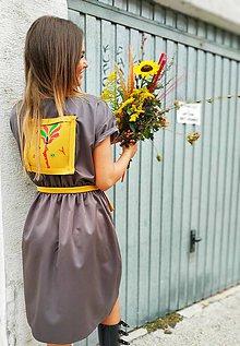 Šaty - Bezovo-hnede.  Edícia ZS - 11000316_