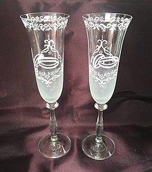Nádoby - Svadobné poháre - 10999601_
