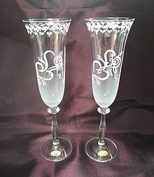 Nádoby - Svadobné poháre - 10999615_