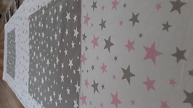 Úžitkový textil - Zástena za posteľ ... - 10999060_