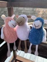 Háčkované ovečky