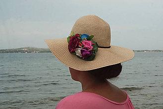 Ozdoby do vlasov - Spona plná kvetov - 10999515_