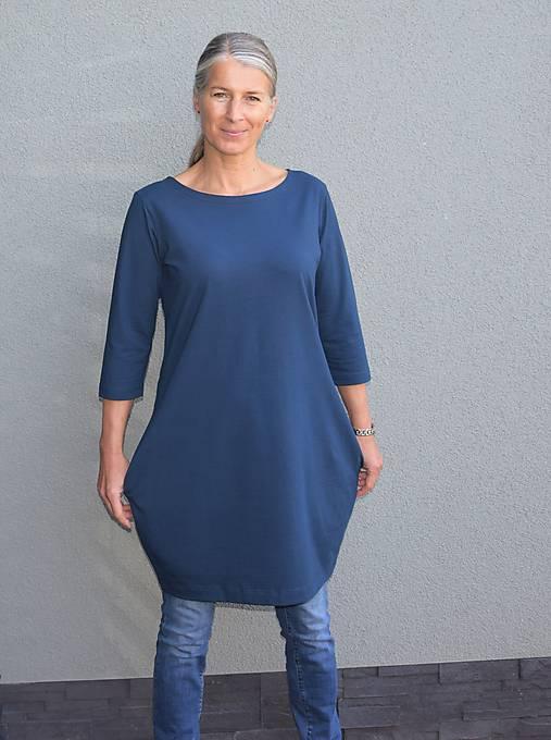 Šaty - Šaty...tmavě modré - 10998287_