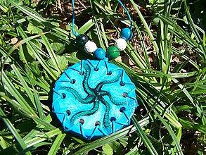 Náhrdelníky - Podmorský kvet - 10999561_