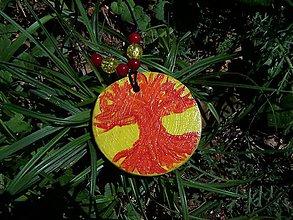 Náhrdelníky - Magický strom - Ohnivák - 10999618_