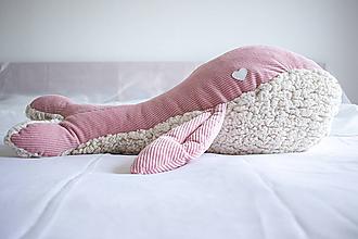 Textil - Veľryba MAXI BIBA ROSA - 10998983_