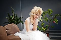 Šaty - Svadobné šaty s korzetom a tylovou sukňou - 11000259_