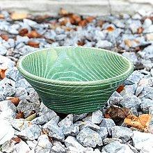 Dekorácie - Green Dream -  Drevená Misa - 10999434_
