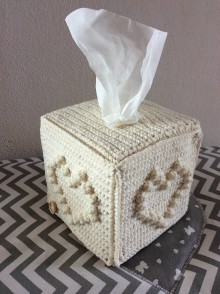 Dekorácie - obal na krabičku so srvítkami - 10999232_