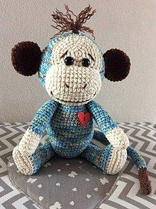 Hračky - opička - 10999267_