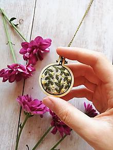 Náhrdelníky - Žlté bylinky - 10999029_