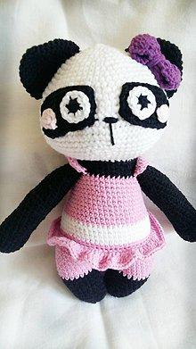 Hračky - Panda-dievčatko - 11000041_
