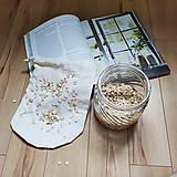 Úžitkový textil - Vrecúško na výrobu rastlinného mlieka - 10998407_