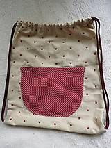 Batohy - Bavlnený vak - nielen pre malé slečny - 11000517_