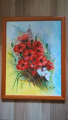 Obrazy - Poľná kytica - 11000630_
