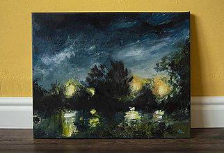 Obrazy - Nočná obloha - 10999978_