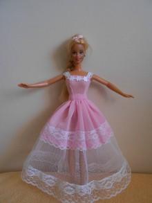 Hračky - Šaty pre barbie - 11000472_