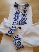 Oblečenie - Pánska folklórna košeľa - 10998138_