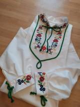 Oblečenie - Ručne maľovaná pánska košeľa - 10998143_
