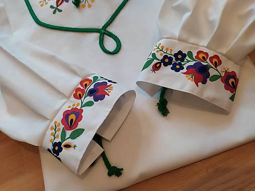 Ručne maľovaná pánska košeľa