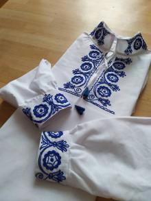 Oblečenie - Pánska folklórna košeľa - 10998137_