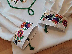 Oblečenie - Ručne maľovaná pánska košeľa - 10998142_