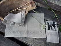 Úžitkový textil - Ľanové prestieranie Gift of Nature - 11000447_