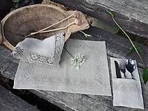 Úžitkový textil - Ľanové prestieranie Gift of Nature - 11000448_