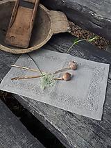 Úžitkový textil - Ľanové prestieranie Gift of Nature - 11000452_