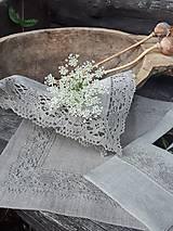Úžitkový textil - Ľanový obrúsok Gift of Nature - 11000477_
