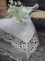 Úžitkový textil - Ľanový obrúsok Gift of Nature - 11000478_