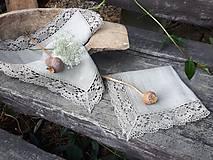 Úžitkový textil - Ľanový obrúsok Gift of Nature - 11000482_