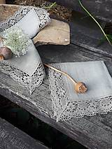 Úžitkový textil - Ľanový obrúsok Gift of Nature - 11000483_