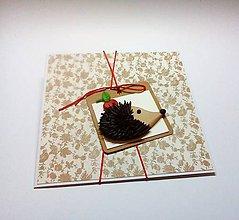 Papiernictvo - Pohľadnica ... Jeseň klope na dvere - 11002948_