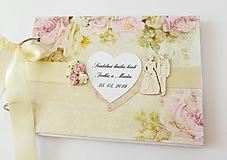 Papiernictvo - svadobná kniha hostí - 11000983_