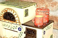 Dekorácie - Nostalgická piecka II. - 11001083_
