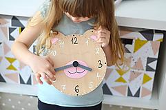 Hračky - Edukačné dizajnové hodiny – Na učenie sa času - 11001677_