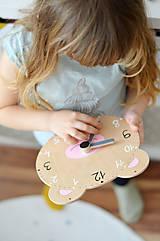 Hračky - Edukačné dizajnové hodiny – Na učenie sa času - 11001678_
