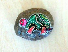 Dekorácie - Kameň korytnačka - 11001074_