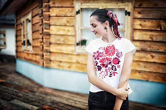 Tričká - Bavlnené tričko Poľana - 11002413_