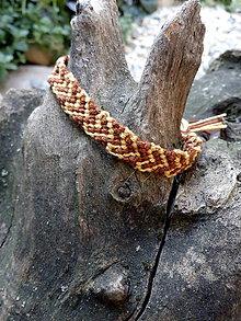 Náramky - Pletený náramok 29 - 11002636_