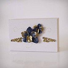 Krabičky - Luxusná svadba III. - krabička na svadobné obrúčky - 11002301_