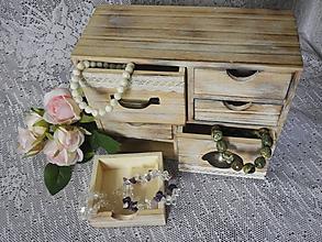 Krabičky - Komodka malá se 6 šuplíky - 11002894_