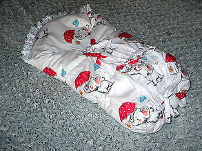 Textil - zavinovačka -perinka - 11002450_